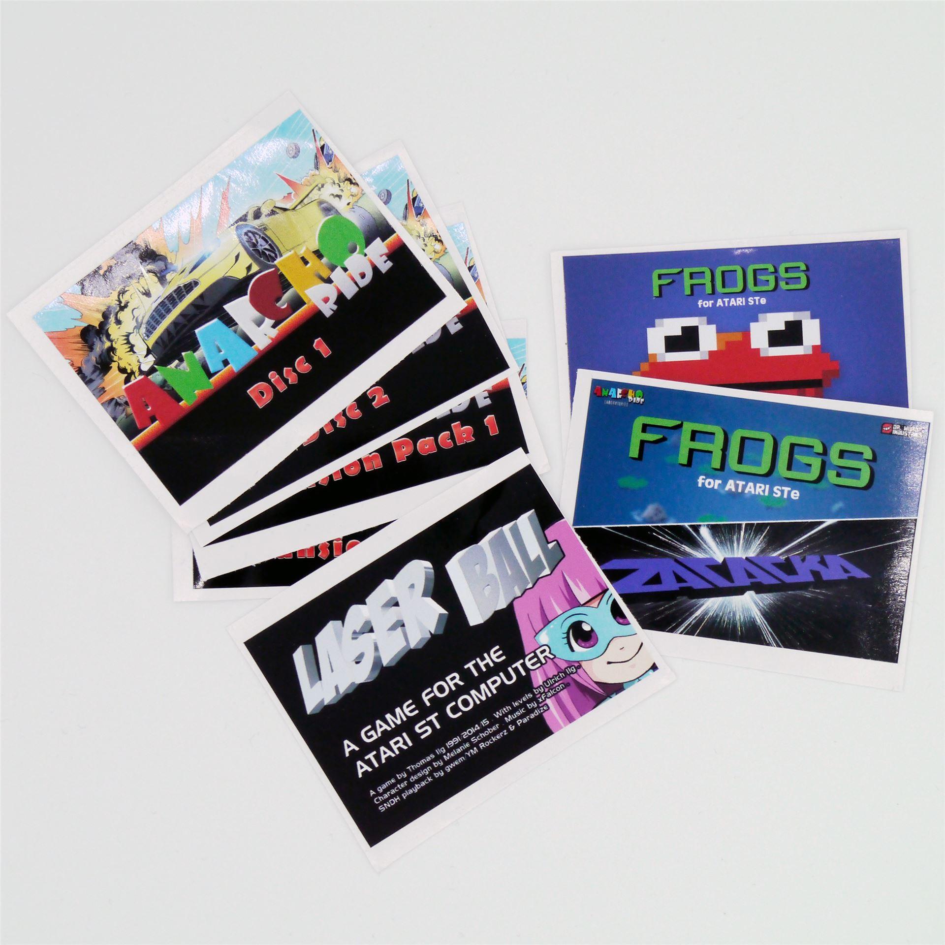Floppy sticker set € 7